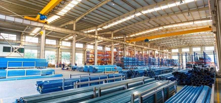 AIRpipe warehouse