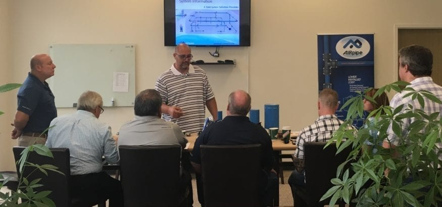 AIRpipe Contractor Training with Joe Miller